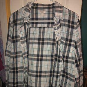 JCrew flannel shirt